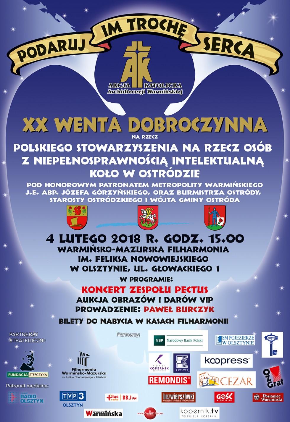 Dwudziesta Wenta Dobroczynna już 4 lutego!