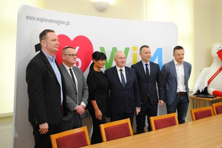 Konferencja prasowa ws. 1% podatku dla OPP na Warmii i Mazurach