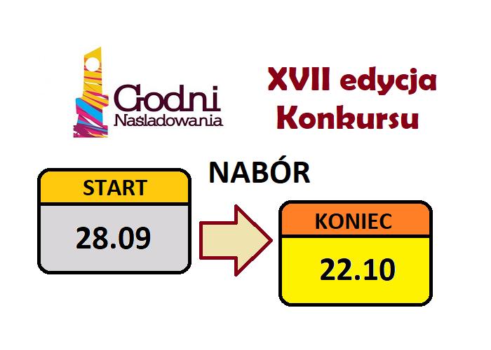 """Nabór w Konkursie """"Godni Naśladowania"""" wydłużony do 22 października"""