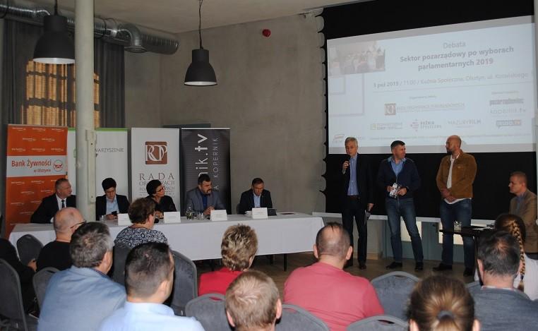 Podsumowanie debaty Rady z Komitetami Wyborczymi do Sejmu
