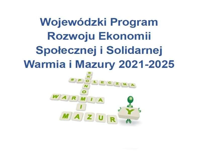 Wojewódzki program rozwoju ekonomii społecznej w konsultacjach